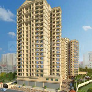 Building Image of 958 Sq.ft 2 BHK Apartment for buy in Cosmos Habitate A Wing, Thane West for 10500000