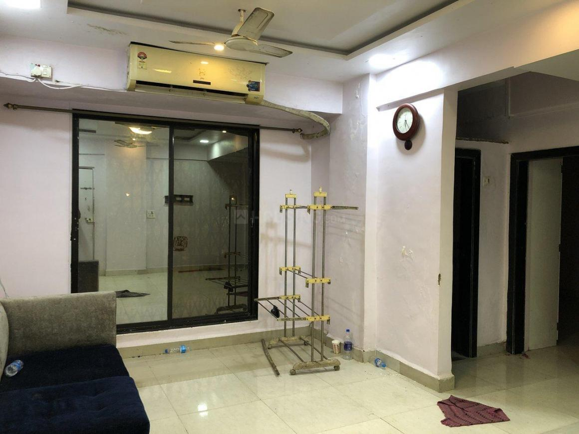 Living Room Image of 750 Sq.ft 1 BHK Apartment for rent in Airoli for 19000