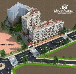 Gallery Cover Image of 575 Sq.ft 1 BHK Apartment for buy in Metro Aangan Phase I, Badlapur West for 2299000