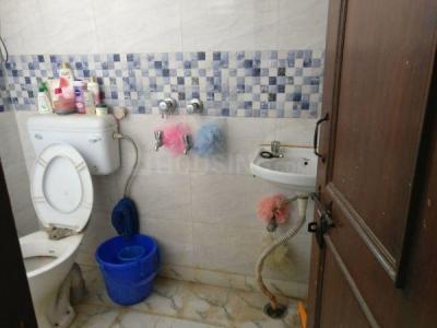 लाजपत नगर में मंजु के कॉमन बाथरूम की तस्वीर