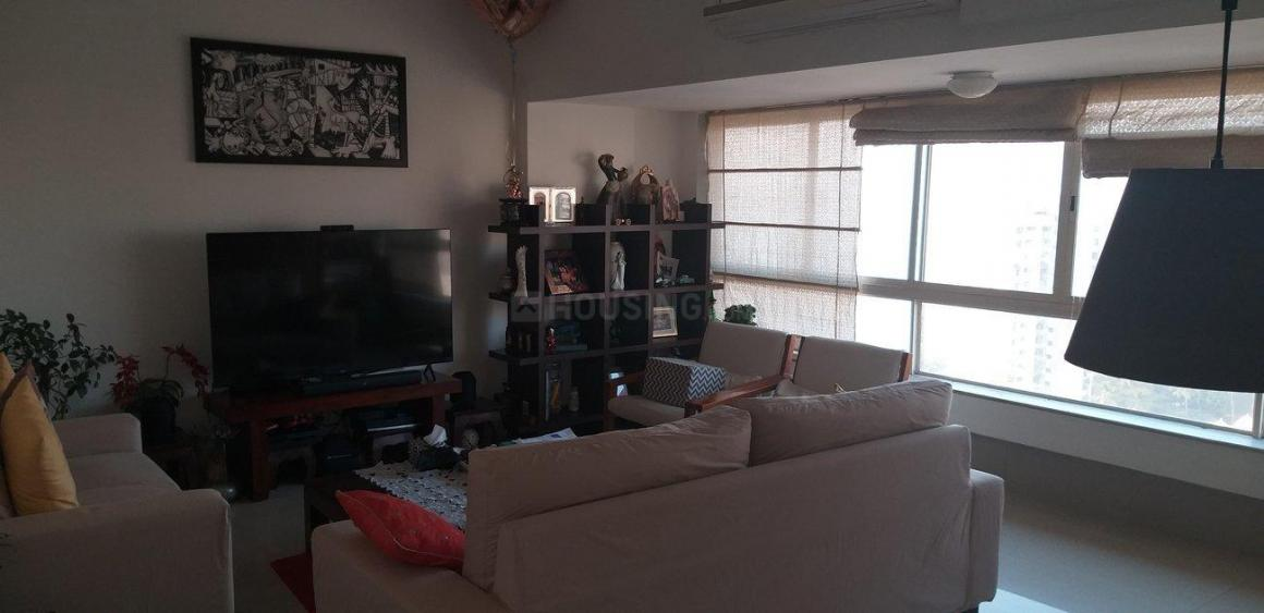 Living Room Image of 1000 Sq.ft 2 BHK Apartment for rent in Cumballa Hill for 150000