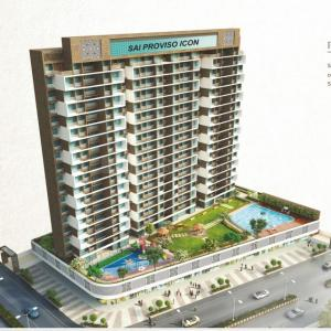 Gallery Cover Image of 730 Sq.ft 1 BHK Apartment for buy in Sai Proviso Icon, Kalamboli for 5800000