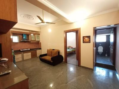 Gallery Cover Image of 700 Sq.ft 1 BHK Independent House for rent in Indira Nagar for 20500