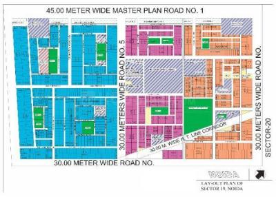299 Sq.ft Residential Plot for Sale in Sector 19, Noida