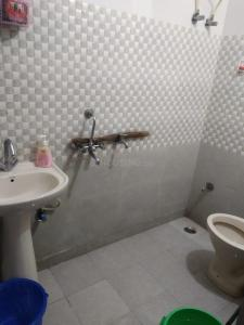 Common Bathroom Image of 450 Sq.ft 2 BHK Independent Floor for rent in Mahavir Enclave for 10000
