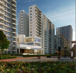 Gallery Cover Image of 1300 Sq.ft 2 BHK Apartment for buy in Godrej Aqua, Hosahalli for 8700000