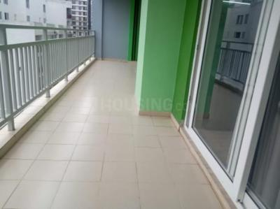Balcony Image of 1480 Sq.ft 2 BHK Apartment for buy in Pacific Golf Estate, Kulhan for 6200000