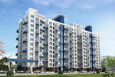 Gallery Cover Image of 1200 Sq.ft 2 BHK Apartment for rent in Omega Paradise, Wakad for 15000