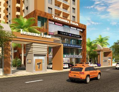 Gallery Cover Image of 1215 Sq.ft 2 BHK Apartment for buy in Takshashila Elegna, Ellisbridge for 6277500
