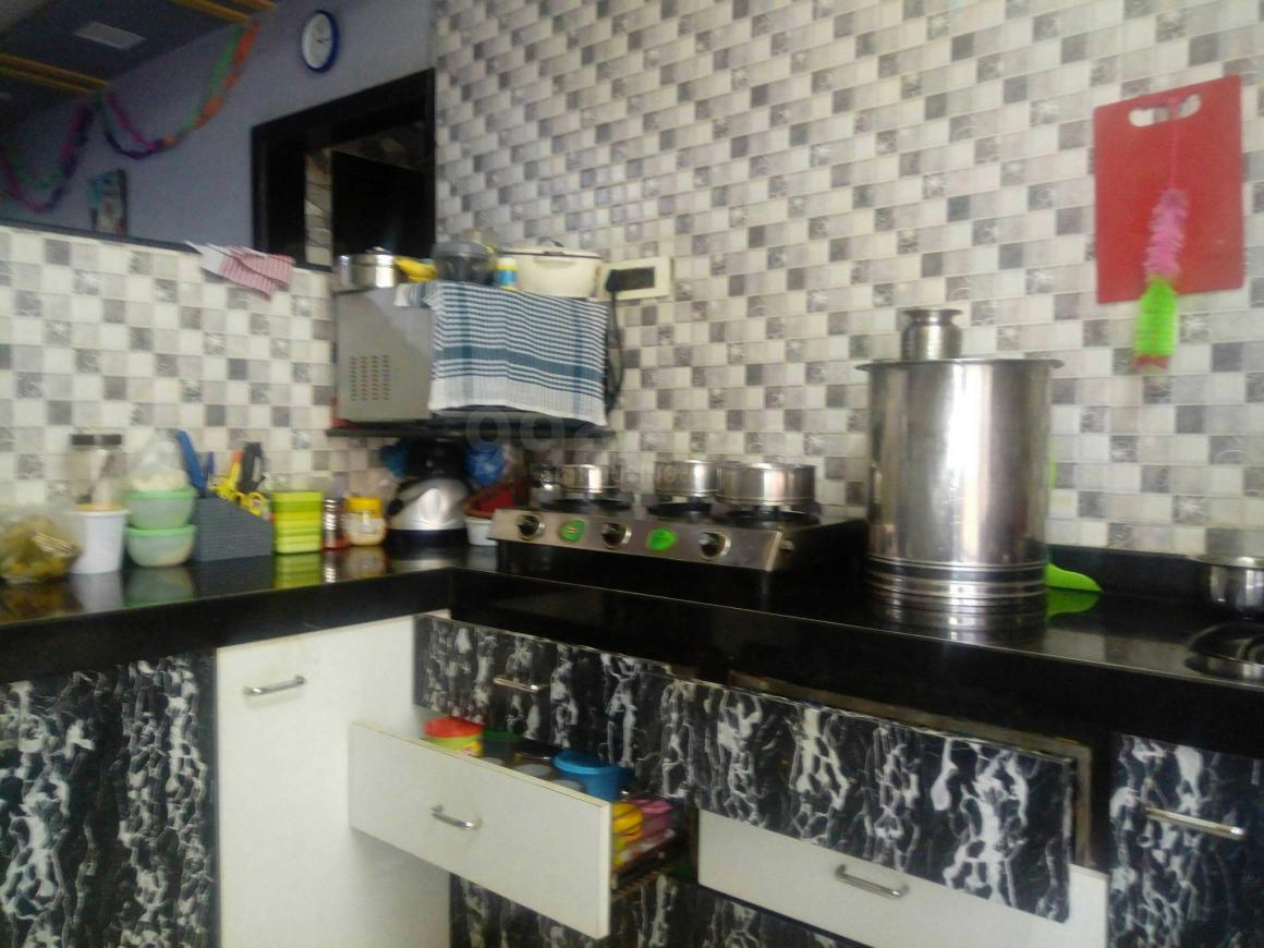 Kitchen Image of 550 Sq.ft 2 BHK Apartment for rent in Bhayandar East for 13000
