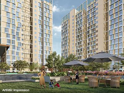 Gallery Cover Image of 850 Sq.ft 2 BHK Apartment for buy in Aubburn at Sarova, Kandivali East for 12800000
