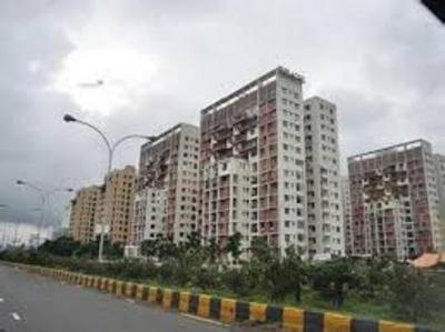 Gallery Cover Image of 1345 Sq.ft 3 BHK Apartment for rent in Shrachi Greenwood Sonata, Rajarhat for 20000