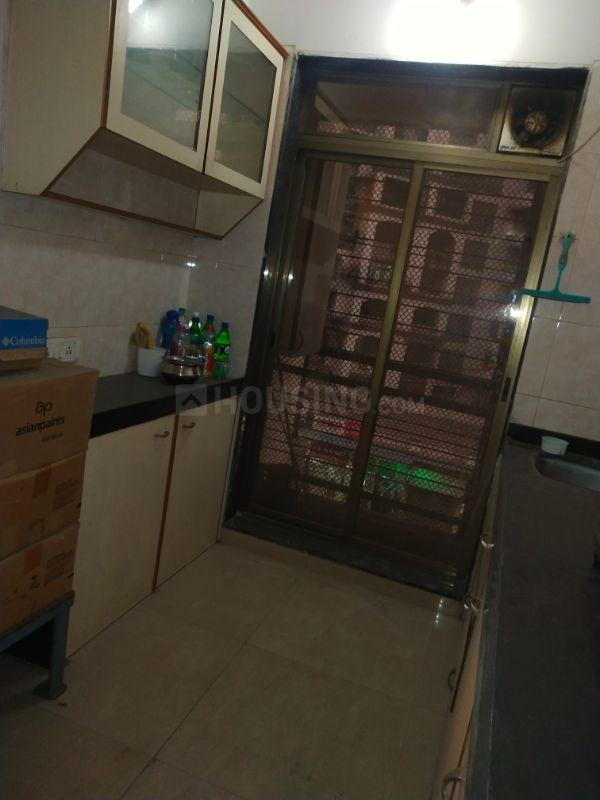 Kitchen Image of 510 Sq.ft 1 BHK Independent House for rent in Kopar Khairane for 17000