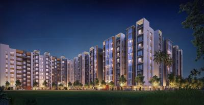 Gallery Cover Image of 946 Sq.ft 3 BHK Apartment for buy in Green apartment, Chinar Park for 6307350