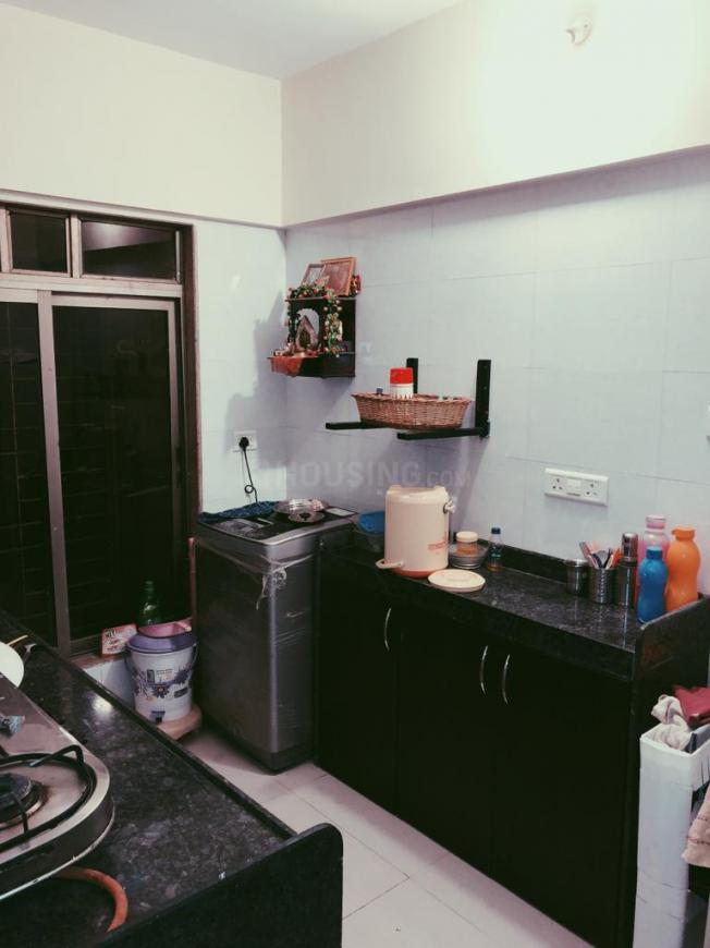 Kitchen Image of 850 Sq.ft 2 BHK Apartment for rent in Andheri East for 45000