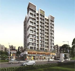 Gallery Cover Image of 670 Sq.ft 1 BHK Apartment for buy in Sai Heritage, Badlapur East for 3000000