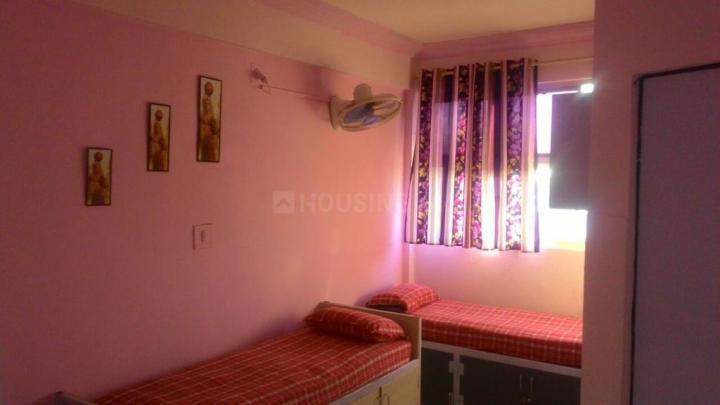 गुरुकुल में फर्निश पीजी अवेलेबल के बेडरूम की तस्वीर