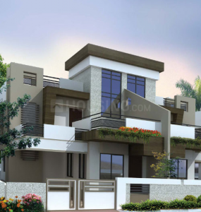 Gallery Cover Image of 2470 Sq.ft 3 BHK Villa for rent in Radha Vrindavan Phase 1, Jamtha for 20000