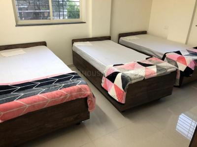 Bedroom Image of Blue Spaces PG in Wadgaon Sheri