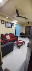 Gallery Cover Image of 650 Sq.ft 1 BHK Apartment for rent in Ganga Sagar CHS, Kamothe for 9000