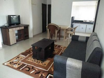 Gallery Cover Image of 750 Sq.ft 1 BHK Apartment for rent in Parshwanath Atlantis Park, Sughad for 13000