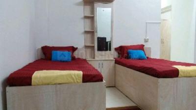 विमान नगर में कस्टमाइज पीजी में बेडरूम की तस्वीर