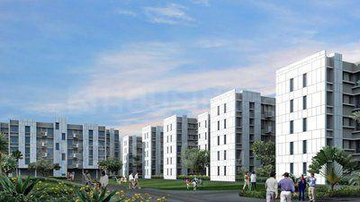 Gallery Cover Image of 760 Sq.ft 2 BHK Apartment for rent in Barasat for 6000