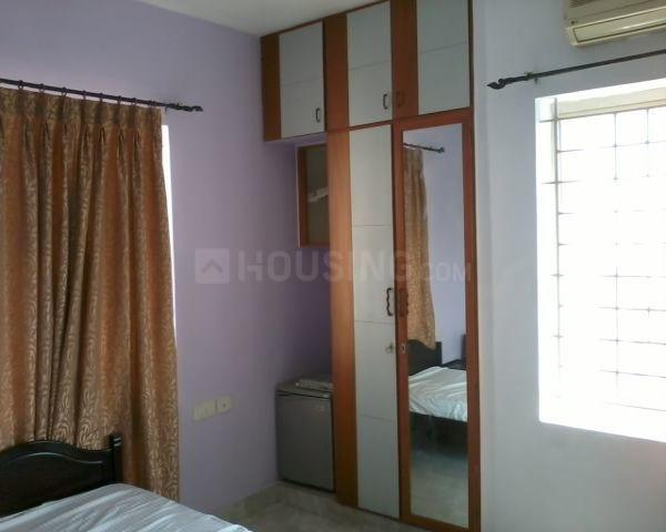 Bedroom Image of 1475 Sq.ft 3 BHK Apartment for rent in Thoraipakkam for 26000