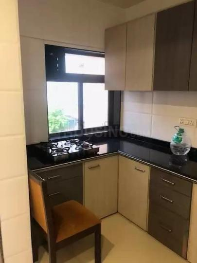 Kitchen Image of 650 Sq.ft 1 BHK Apartment for rent in Andheri West for 55000