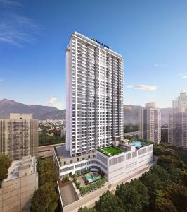 Gallery Cover Image of 707 Sq.ft 2 BHK Apartment for buy in Ashar Edge Wing A Phase II, Thane West for 11300000
