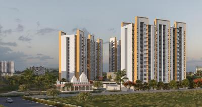 Gallery Cover Image of 800 Sq.ft 2 BHK Apartment for buy in Majestique Venice Building D Wing A, Dhayari for 4700000