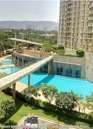 Gallery Cover Image of 1400 Sq.ft 3 BHK Apartment for rent in Sheth Vasant Lawns, Thane West for 53000
