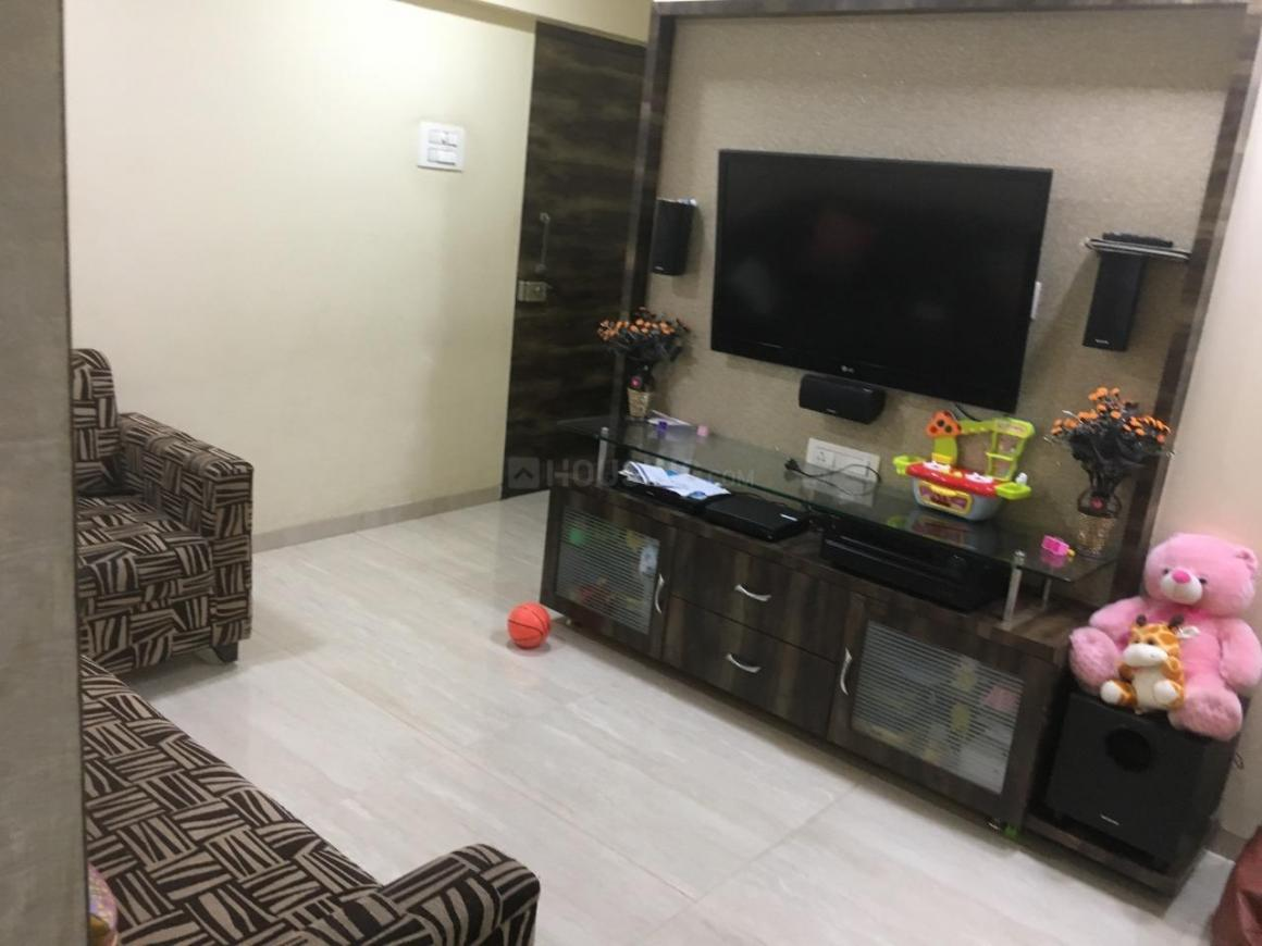 Living Room Image of 1200 Sq.ft 3 BHK Apartment for rent in Borivali West for 55000