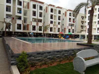 Gallery Cover Image of 650 Sq.ft 2 BHK Apartment for rent in Vaishno Signature, Krishnarajapura for 22000