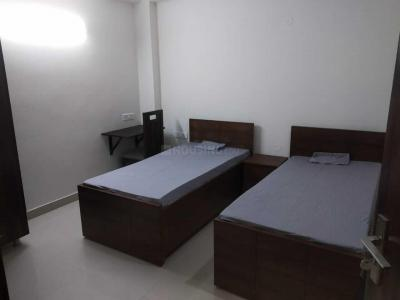 Bedroom Image of Furnished PG Building in Sushant Lok I