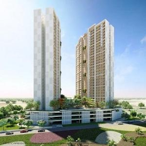 Gallery Cover Image of 1026 Sq.ft 2 BHK Apartment for buy in Gujarat International Finance Tec City for 5499000