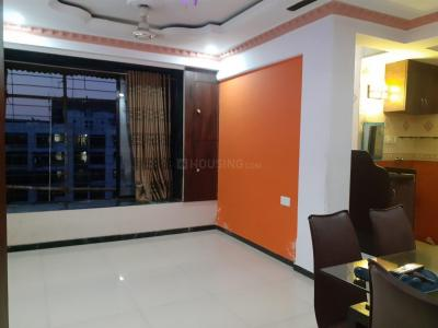 Gallery Cover Image of 696 Sq.ft 1 BHK Apartment for rent in Kopar Khairane for 23700