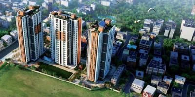 Gallery Cover Image of 919 Sq.ft 2 BHK Apartment for buy in Uddipa The Condoville, Baranagar for 5100000