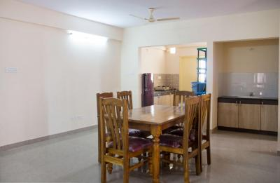 Dining Room Image of B-805 Rajatha Green Apartment in HBR Layout