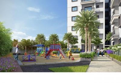 Gallery Cover Image of 1312 Sq.ft 2 BHK Apartment for buy in Fortune Green Golden Oriole, Puppalaguda for 8500000