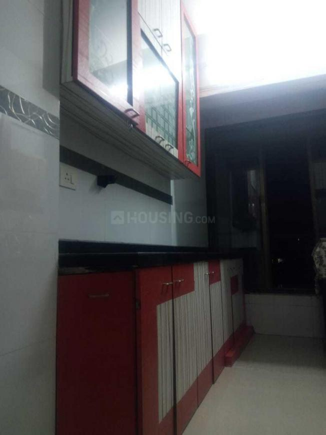 Kitchen Image of 650 Sq.ft 1 BHK Apartment for rent in Borivali East for 21000