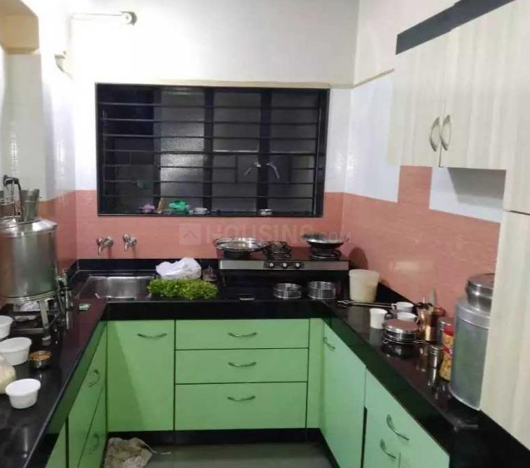 Kitchen Image of 1000 Sq.ft 4 BHK Independent House for buy in Cidco for 11000000