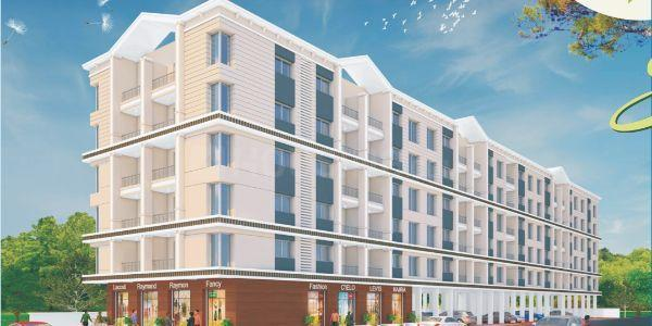 Building Image of 417 Sq.ft 1 RK Apartment for buy in Narhe for 1600000