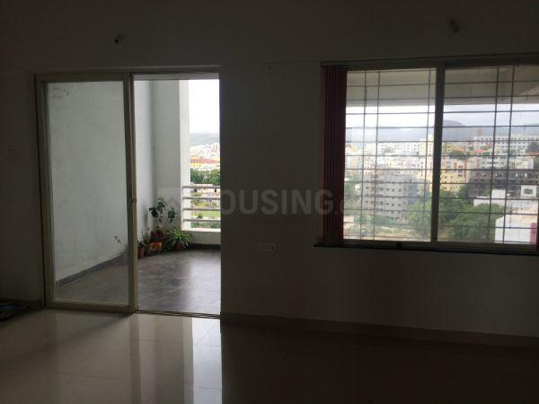 Living Room Image of 1344 Sq.ft 3 BHK Apartment for rent in Narhe for 17000