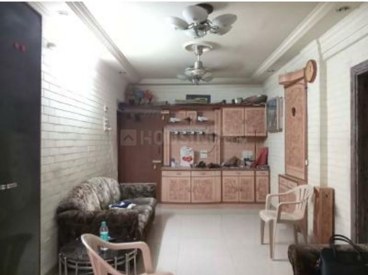 Living Room Image of 650 Sq.ft 1 BHK Apartment for rent in Thane East for 28000