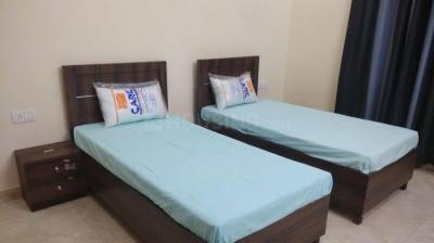 Bedroom Image of Homefort Girls PG Hudson Lane in GTB Nagar