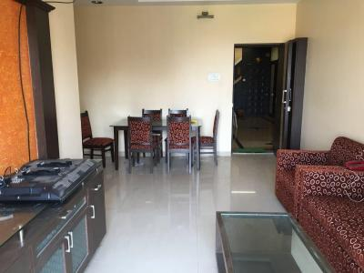 Gallery Cover Image of 600 Sq.ft 1 BHK Apartment for rent in Lalani Velentine Apartment VI, Malad East for 28000
