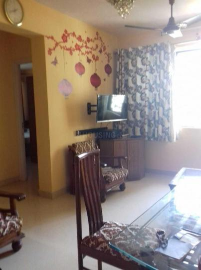 Living Room Image of 680 Sq.ft 1 BHK Apartment for rent in Malad West for 33000