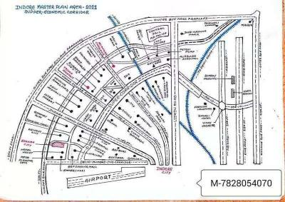 750 Sq.ft Residential Plot for Sale in Bada Bangarda, Indore