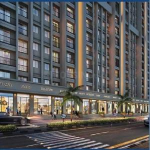 Gallery Cover Image of 550 Sq.ft 1 BHK Apartment for buy in Raunak 108, Kasarvadavali, Thane West for 4700000